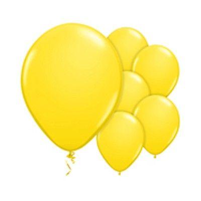 Ballonger - gul - 10 st