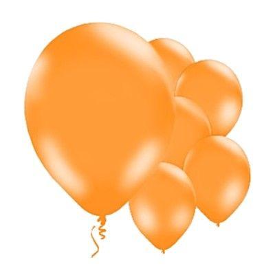 Ballonger - orange - 10 st