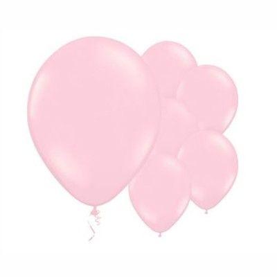 Ballonger - rosa - 10 st