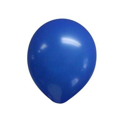 Ballonger - mörkblå - 10 st