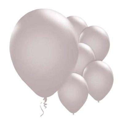 Ballonger - silver metallic - 10 st
