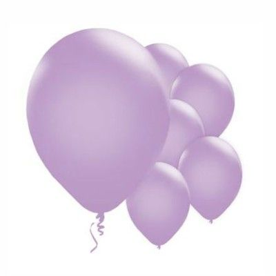 Ballonger - lila metallic - 10 st