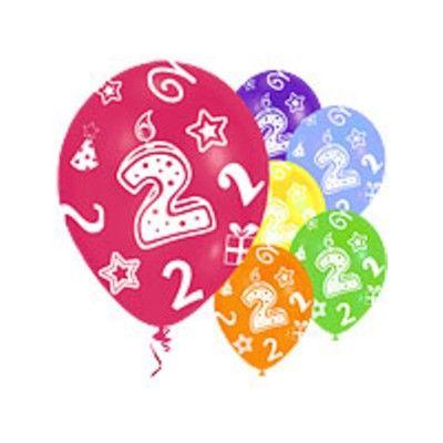 Ballonger - 2 år - 6 st