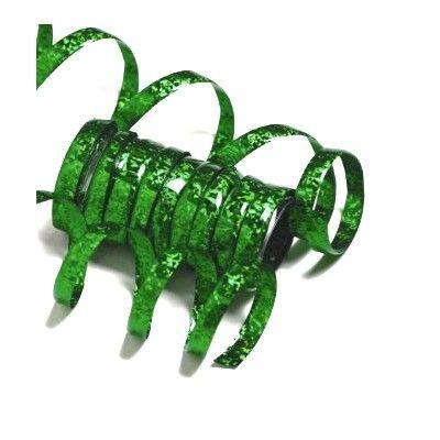 Serpentiner - grön metallic