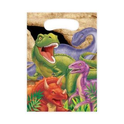 Godispåsar - dinosaurier - 8 st