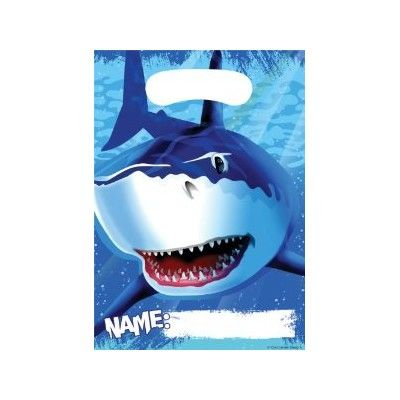 Godispåsar - Shark splash - 8 st