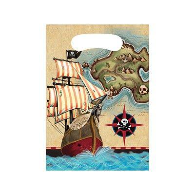 Godispåsar - Pirate's Map - 8 st