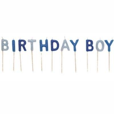 Tårtljus - Birthday boy