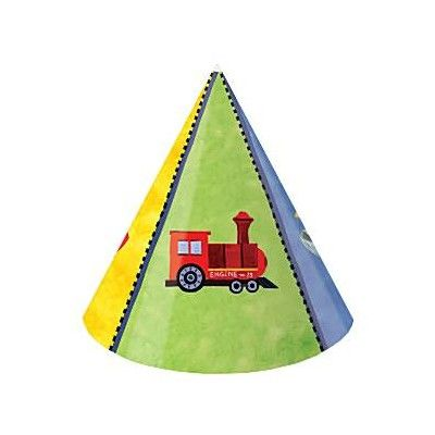 Partyhattar - fordon - 8 st