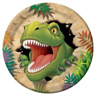 Kalastallrikar - dinosaurier - 8 st