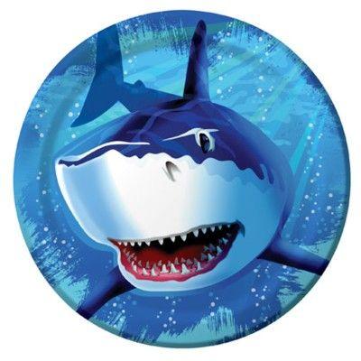 Kalastallrikar - Shark splash - 8 st