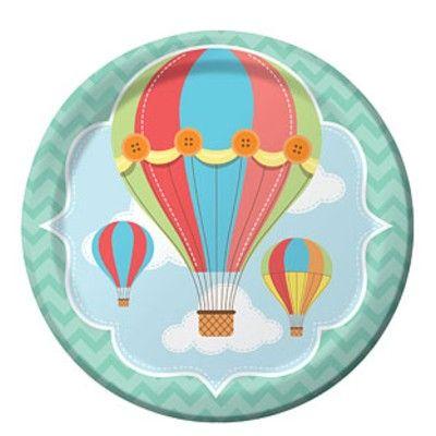 Kalastallrikar - luftballonger - 8 st
