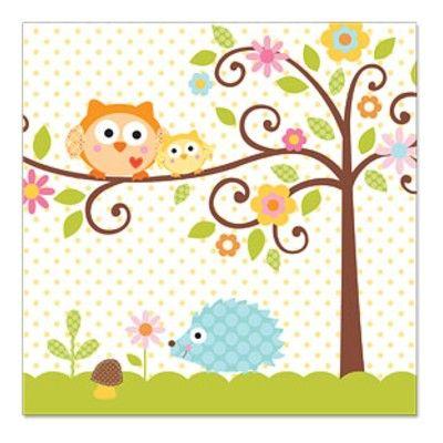 Kalasservetter - Happi Tree - 16 st
