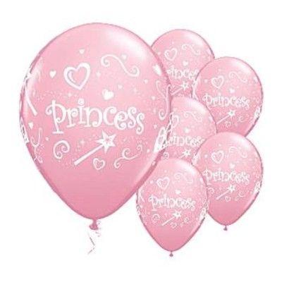 Ballonger - prinsessa - 6 st