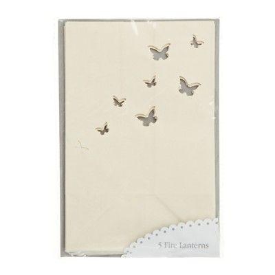 Papperslanternor - fjärilar