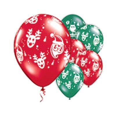 Ballonger - Rudolf & jultomte