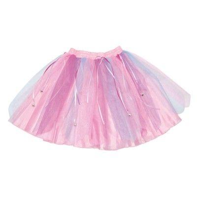 Tyllkjol - rosa med bjällror  -  3-6 år