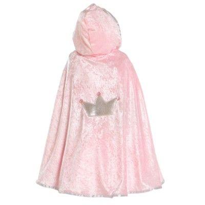 Prinsessmantel, rosa  -  3-7 år