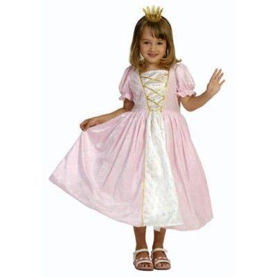Prinsessklänning - rosa, 4-6 år