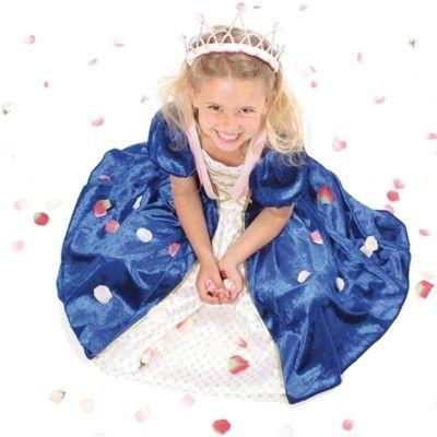 Prinsessklänning - blå, 4-6 år