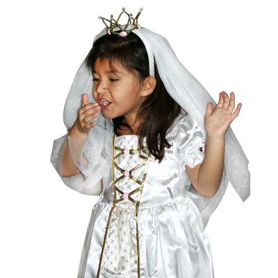 Brudklänning, Victoria 5-7 år