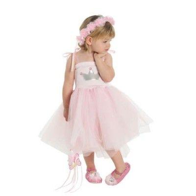 Prinsessklänning - rosa, 2-4 år