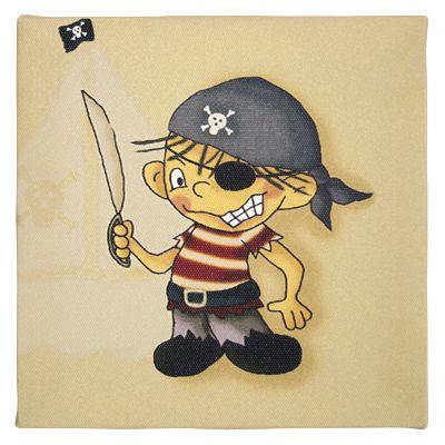 Tavla - Palle Pirat med svärd