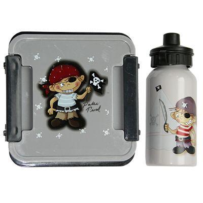 Matlåda och drickflaska - Palle Pirat