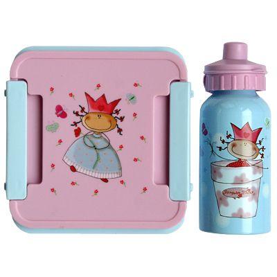 Matlåda och drickflaska - prinsessa