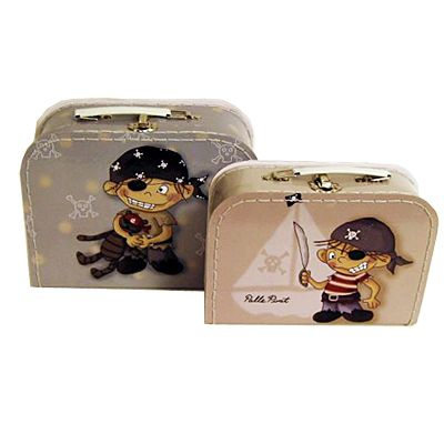Koffert-set, 2 st - Palle Pirat