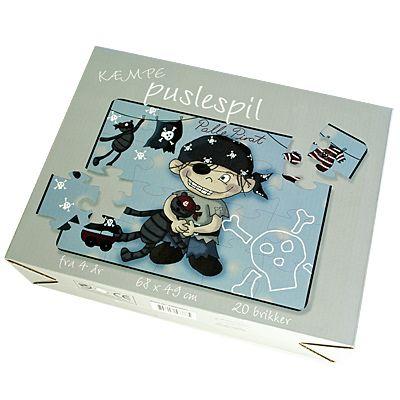 Golvpussel - Palle pirat