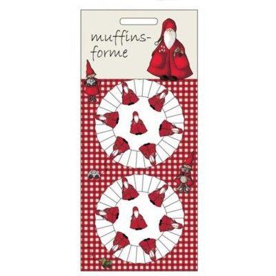 Muffinsformar - tomtar - 50 st