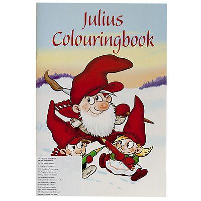 Målarbok - jul