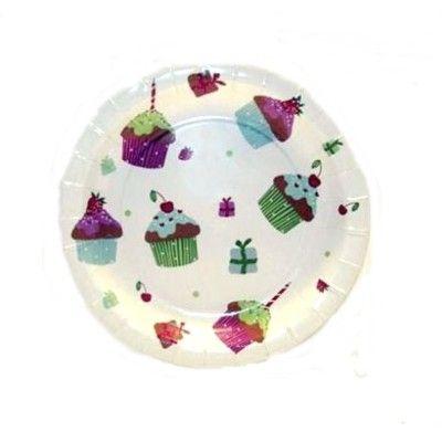 Papperstallrik - cupcake