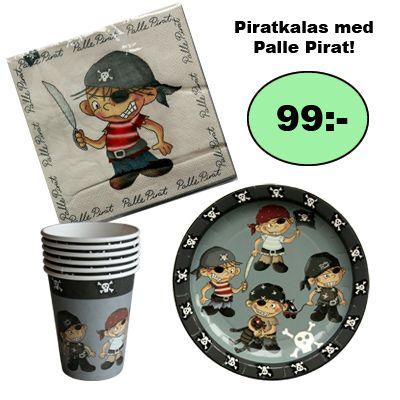 Kalasset - Palle Pirat