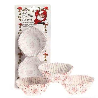 Muffinsformar - jul - 50 st