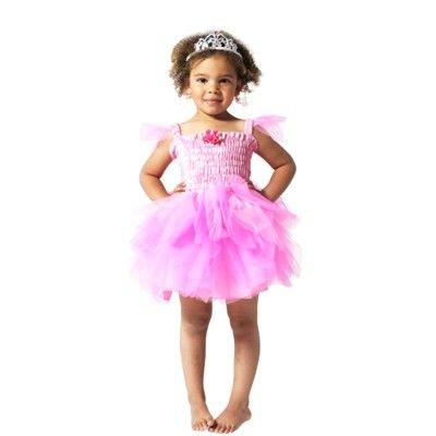 Fe klänning  cerise - 4-6 år