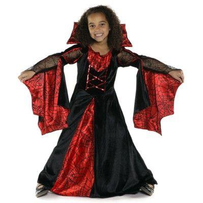 Häxklänning - Spiderella, 6-8 år
