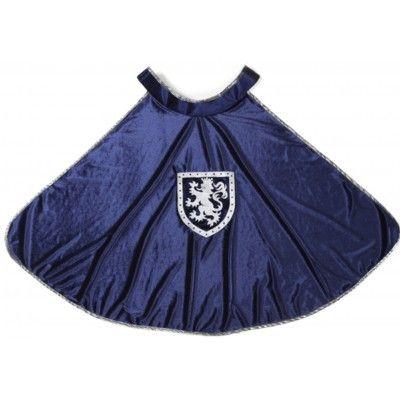 Mantel - Sir Gallahad - blå, 5-6 år