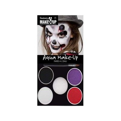 Ansiktsmålning med 4 färger - Halloween