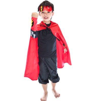 Superhjälte i rött, 3-6 år