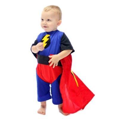 Superhjälte, 2-4 år