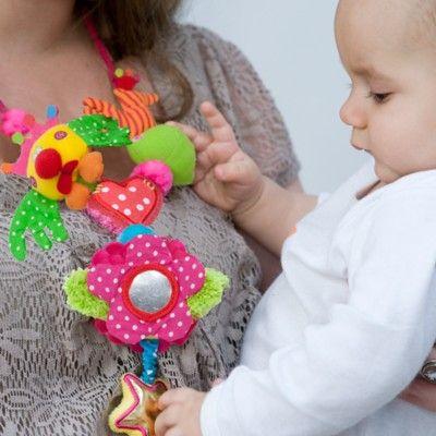 Mamma/barn-halsband - Love - med ljud