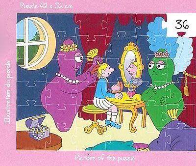 Pussel - Baralala - Flickornas rum