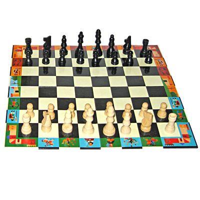 Schackspel i snygg väska
