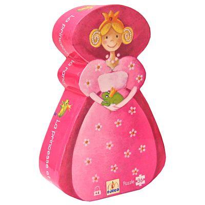 Prinsesspussel i siluettbox