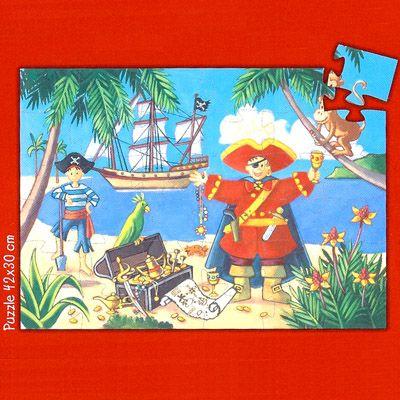 Piratpussel i siluettbox