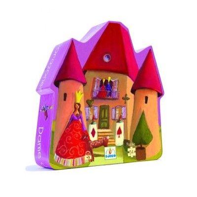 Slottpussel i siluettbox