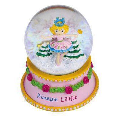 Glasglob med Prinsessan Lillifee