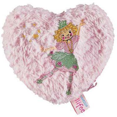 Hjärtformad portmonnä med Prinsessan Lillifee